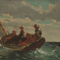Gloucester Boating Painting